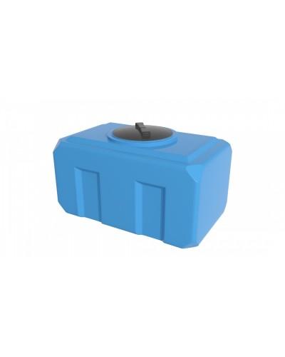 Емкость К 300 л горизонтальная , крышка 350мм (цвет голубой)