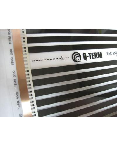 Теплый пол Термопленка «Q-TERM» 100см 220Вт