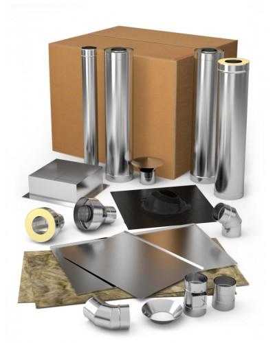 Комплект элементов дымохода для банных печей