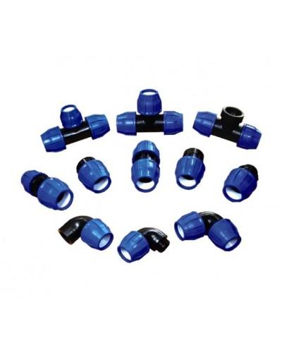 Фитинги компрессионные для (Полиэтилеовой трубы) ПЭ  трубы