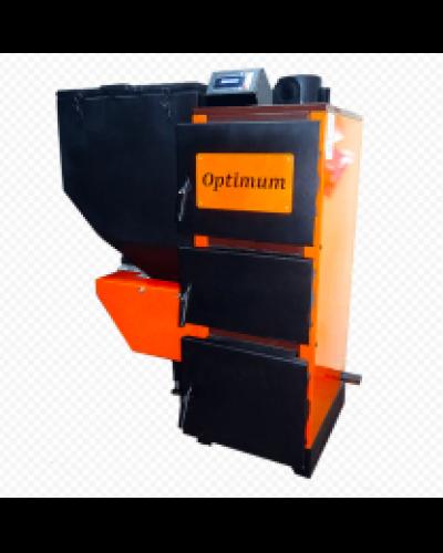 Котел твердотопливный угольно-пеллетный OPTIMUM UNI-27 кВт