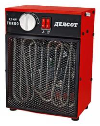 Тепловентилятор КЭВ-2,5 Turbo
