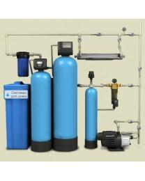 Водоочистка- система фильтрации воды с ручным клапаном