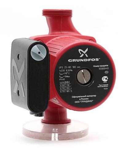 Насос циркуляционный GRUNDFOS UPS 25-80